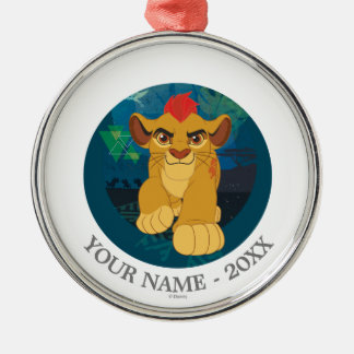 Lion Guard | Simba Add Your Name Christmas Ornament