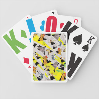 Lion Guard | Triangle Pattern Bicycle Playing Cards