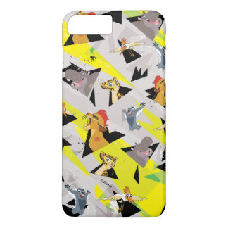 Lion Guard | Triangle Pattern iPhone 8 Plus/7 Plus Case