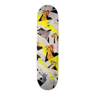 Lion Guard | Triangle Pattern Skateboard Decks