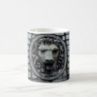 Lion Head Basic White Mug