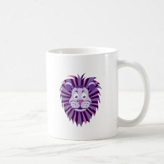 Lion Head Cartoon Mug