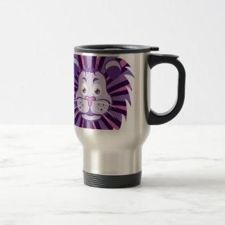 Lion Head Cartoon Coffee Mugs