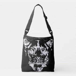 Lion Head Crossbody Bag