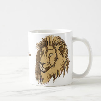 Lion head custom mug