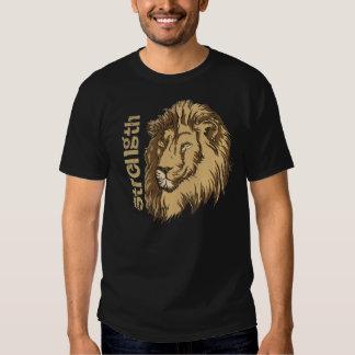 Lion head custom t-shirt- Strength Tshirt