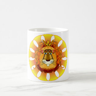 Lion Head Gifts Magic Mug