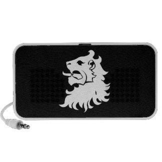 Lion Head Heraldry Doodle Speaker