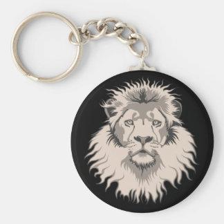 Lion Head Keyring Key Chains