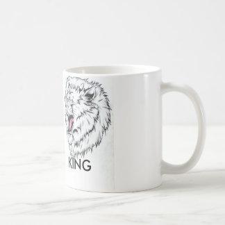 Lion Head/ KING Basic White Mug