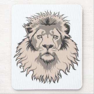 Lion Head Mouse Pad