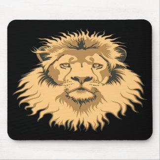 Lion Head Mouse Pads