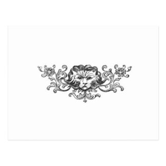 Lion Head Postcard