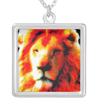 Lion Head Red necklace