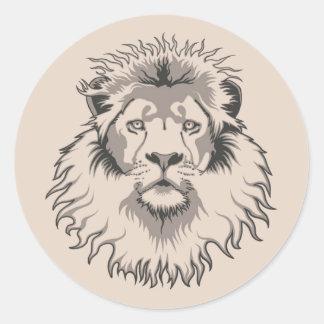 Lion Head sticker