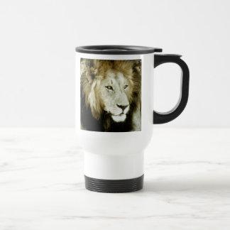 Lion Head Study Coffee Mug