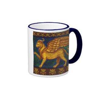 Lion-headed Gryphon Mug