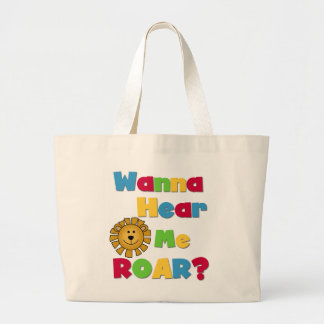 Lion Hear Me Roar T-shirts and Gifts Bags