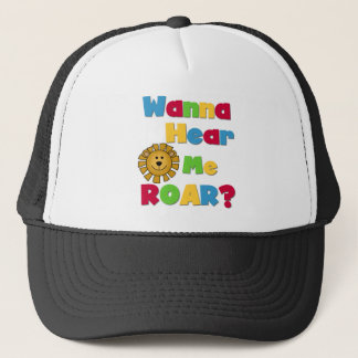 Lion Hear Me Roar Trucker Hat