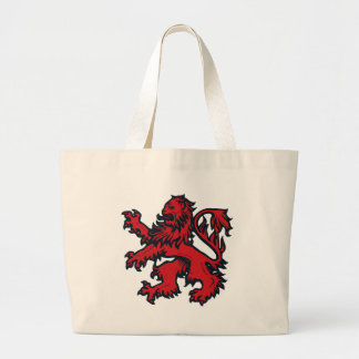 lion heart canvas bag