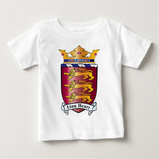 Lion Heart Crest Baby T-Shirt