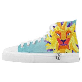 lion high tops
