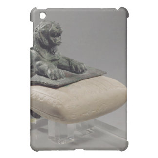 Lion holding a Hurrian foundation tablet, c.2150 B iPad Mini Covers