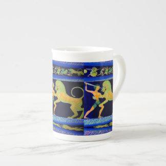 Lion Hunt Mug Tea Cup