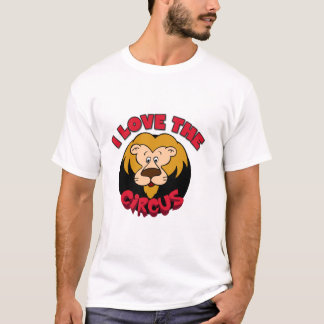 Lion I Love the Circus Tshirts and Gifts
