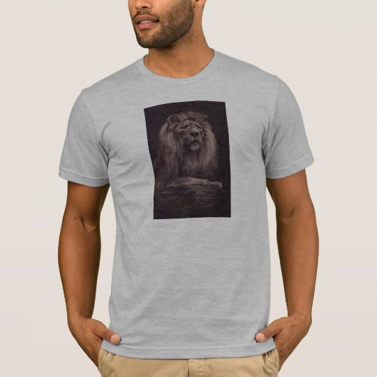 lion II(Black-T) T-Shirt