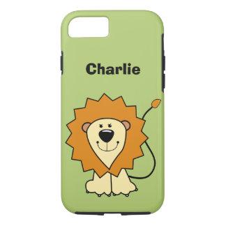 Lion illustration custom name phone cases