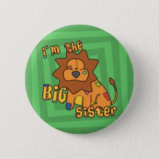 Lion I'm the Big Sister 6 Cm Round Badge