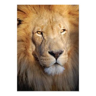 Lion Images Invitation