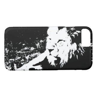 Lion in Black and White iPhone 8/7 Case