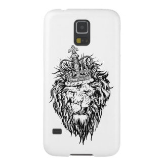 Lion in crown galaxy s5 cover