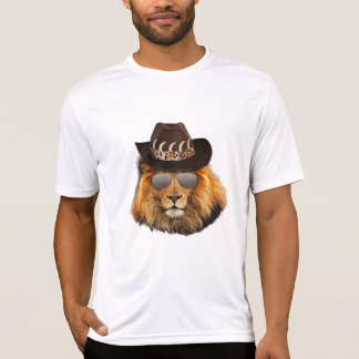 Lion in the Shades T Shirt