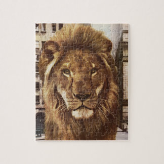 lion in town puzzle
