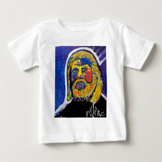 Lion in Winter by Piliero Baby T-Shirt