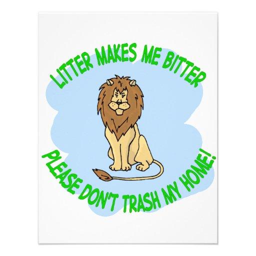 lion personalized invites