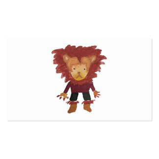 Lion Jungle Friends Baby Animal Water Color Pack Of Standard Business Cards