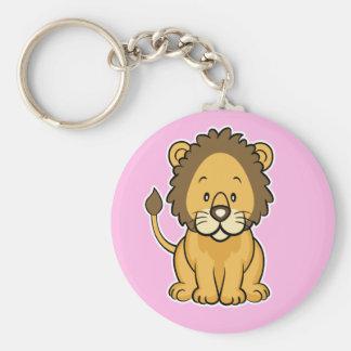 Lion Keychain Pink
