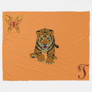 Lion Kids Fleece Blanket