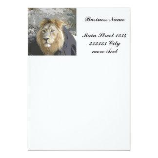 lion king 13 cm x 18 cm invitation card