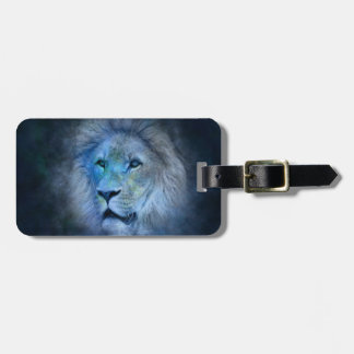 Lion King Luggage Tag with Leather Strap