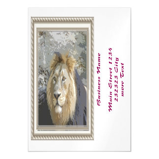 lion king magnetic invitations