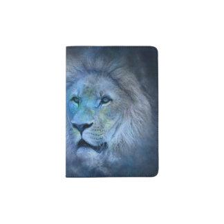 Lion King Modern Dark Blue Passport Holder