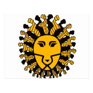 Lion King of Malawi Postcard