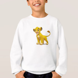 Lion King Simba cub standing Disney Sweatshirt