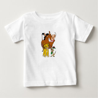 Lion King Timon Simba Pumba with ladybug Disney Baby T-Shirt