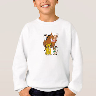 Lion King Timon Simba Pumba with ladybug Disney Sweatshirt
